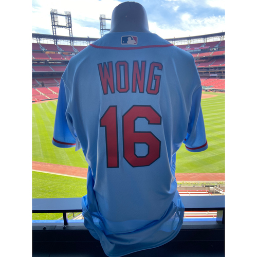 Photo of Cardinals Authentics: Team Issued Kolten Wong Road Alternate Jersey