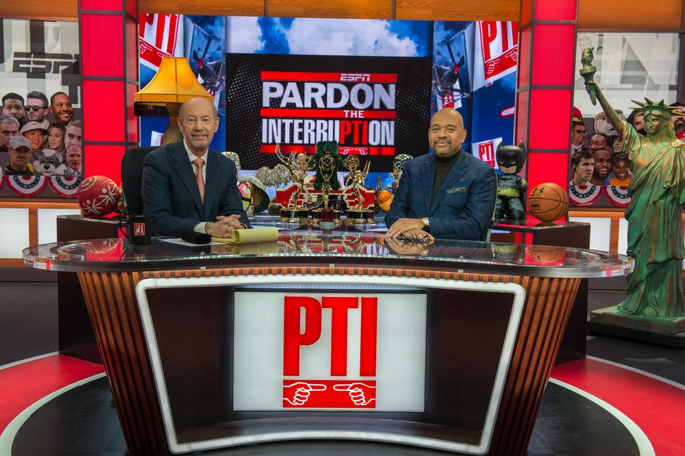 Pardon the Interruption (PTI) Package - Benefiting Warrick Dunn Charities