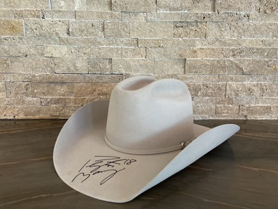 Photo of Autographed Peyton Manning Cowboy Hat