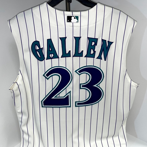 Photo of Zac Gallen Team Issued Throwback Jersey - Mariners @ D-backs 9/5/2021 - Size 44