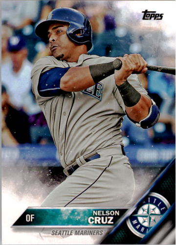 Photo of 2016 Topps #10 Nelson Cruz
