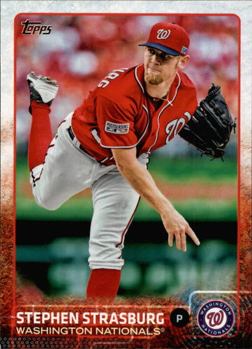 Photo of 2015 Topps #665 Stephen Strasburg