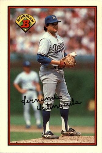 Photo of 1989 Bowman Tiffany #337 Fernando Valenzuela