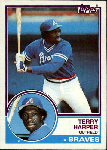 Photo of 1983 Topps #339 Terry Harper