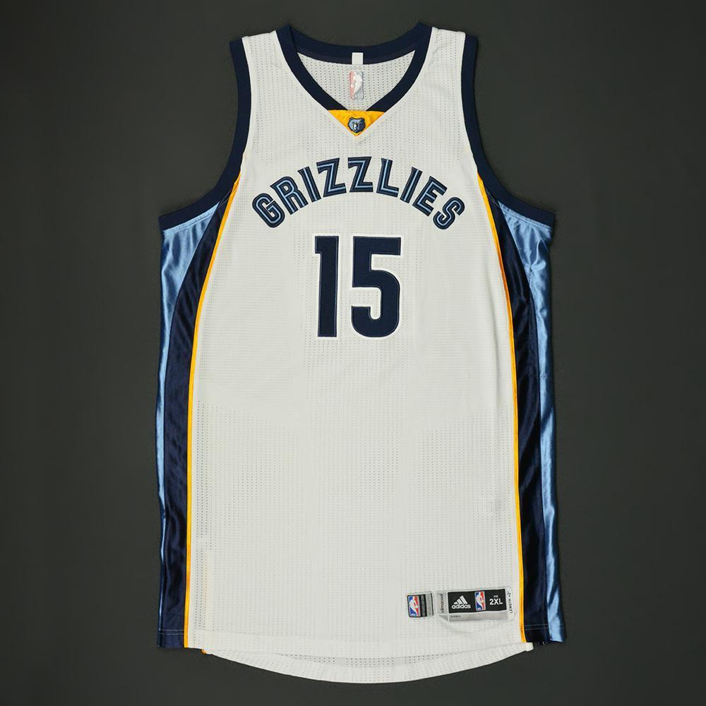 best cheap 61dca dc0b3 Vince Carter - Memphis Grizzlies - Game-Worn Regular Season ...