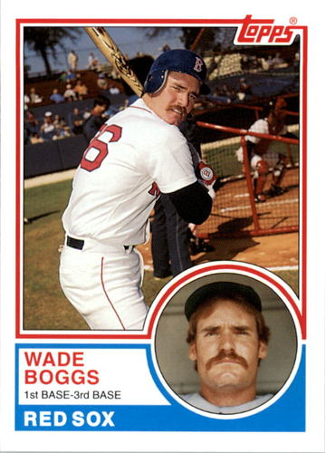 Photo of 2006 Topps Rookie of the Week #23 Wade Boggs 83