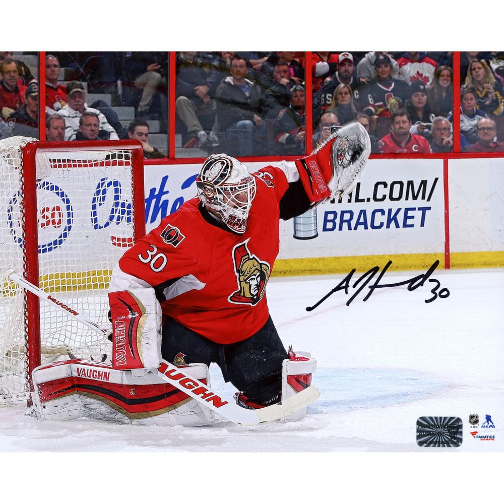Andrew Hammond Ottawa Senators Autographed 8