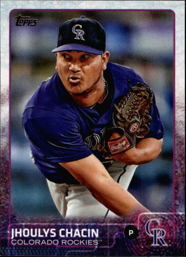 Photo of 2015 Topps #366 Jhoulys Chacin