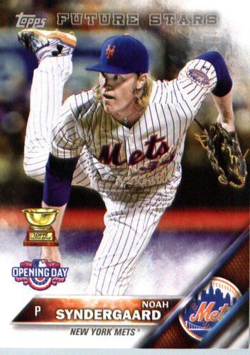 Photo of 2016 Topps Opening Day #OD2A Noah Syndergaard
