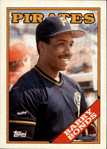 Photo of 1988 Topps #450 Barry Bonds
