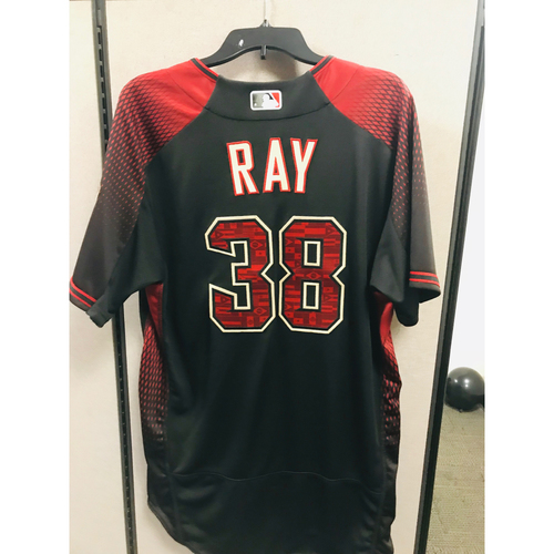 Photo of 2017 Team-Issued Los D-backs Robbie Ray Jersey
