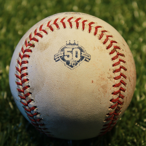 Photo of Game-Used Baseball: Robbie Grossman 437th Career Hit (9/14/18 - MIN @ KC)