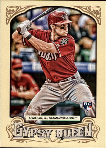 Photo of 2014 Topps Gypsy Queen #26 Chris Owings RC