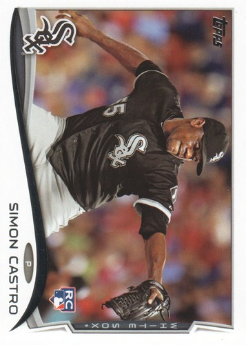 Photo of 2014 Topps #592 Simon Castro RC