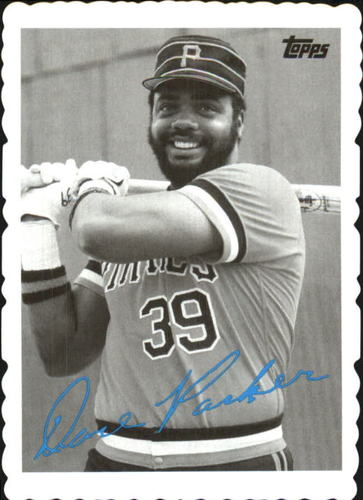 Photo of 2014 Topps Archives '69 Deckle Minis #DP Dave Parker