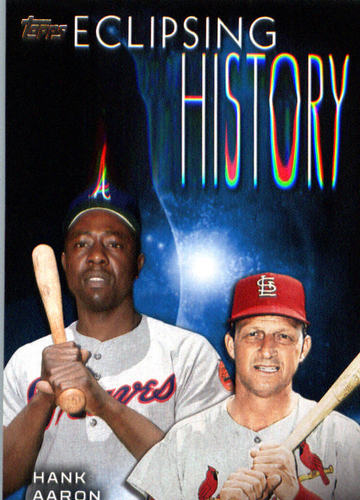 Photo of 2015 Topps Eclipsing History #EH2 Stan Musial/Hank Aaron