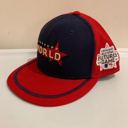 Photo of 2014 All Star Futures Game -  Game Used Cap  - Jose Peraza (Atlanta Braves) Size - 7 -1/4