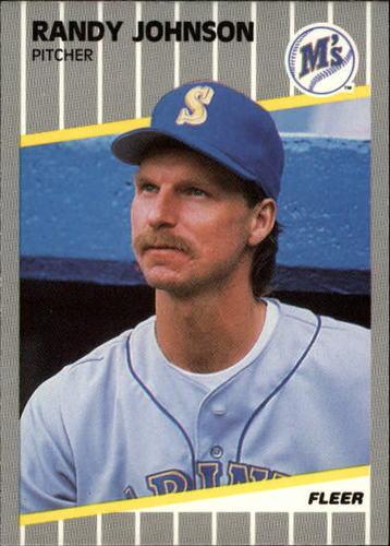 Photo of 1989 Fleer Update #59 Randy Johnson