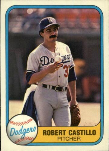 Photo of 1981 Fleer #137 Robert Castillo RC