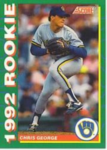 Photo of 1992 Score Rookies #9 Chris George