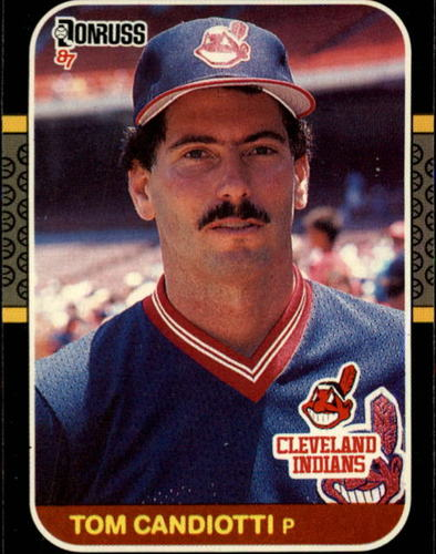 Photo of 1987 Donruss #342 Tom Candiotti