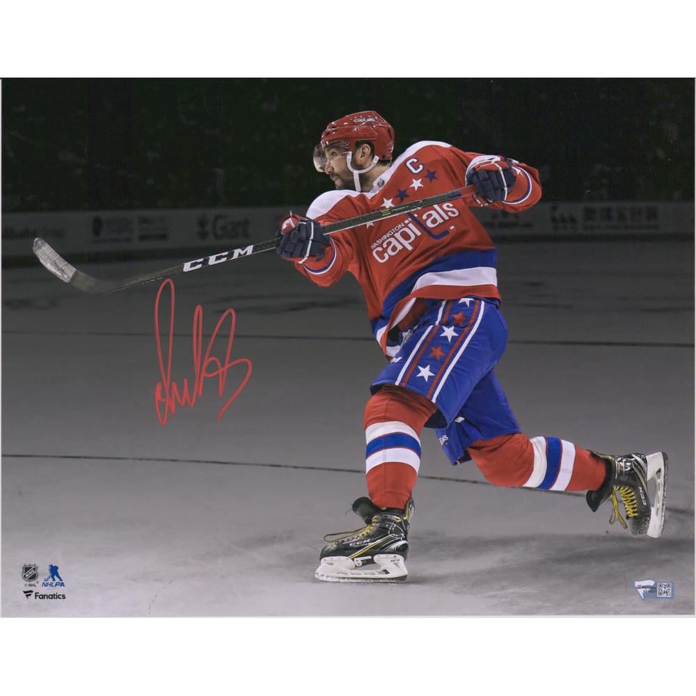 Alex Ovechkin Washington Capitals Autographed 11