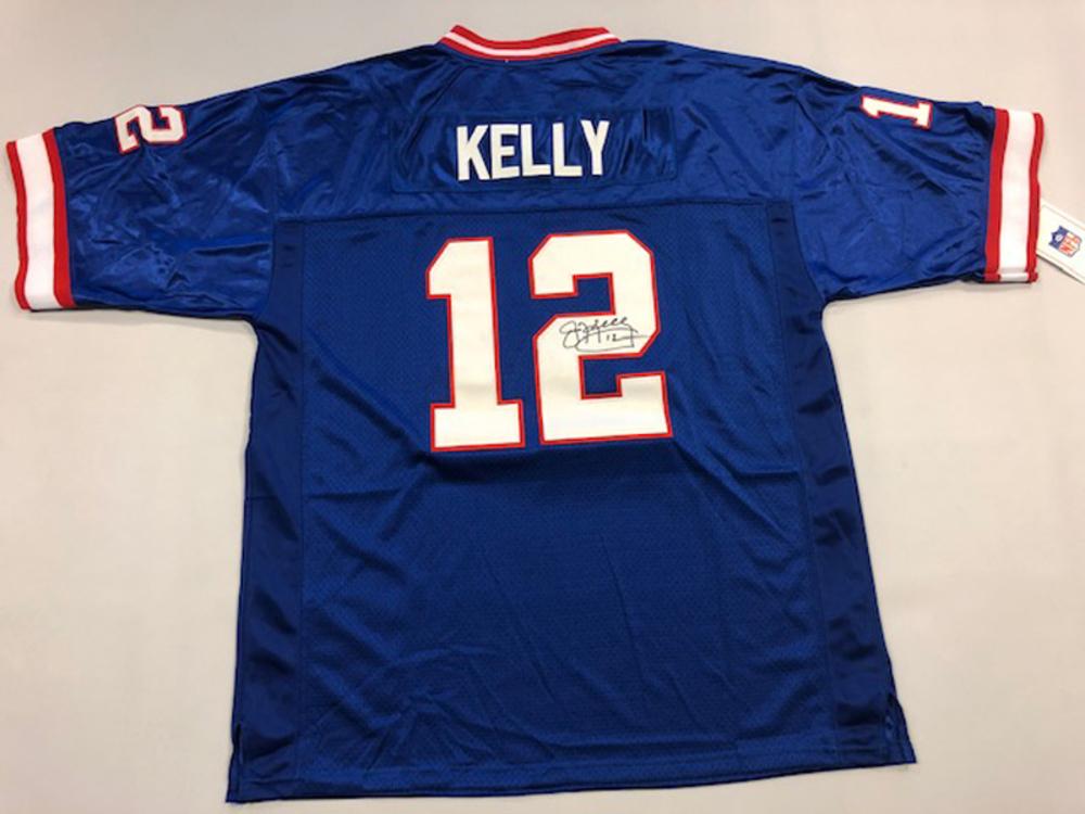 Jim Kelly Autographed Buffalo Bills Jersey