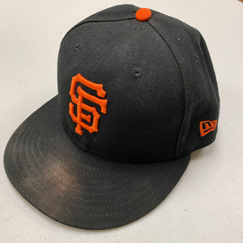 Photo of 2020 Black Friday Sale - 2019 Game Used and Team Issued Regular Season Classic Black Caps - CHOOSE YOUR SIZE - Cap Chosen at Random