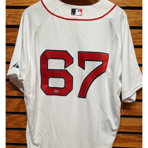 Photo of Brandon Workman #67 Autographed Home Jersey