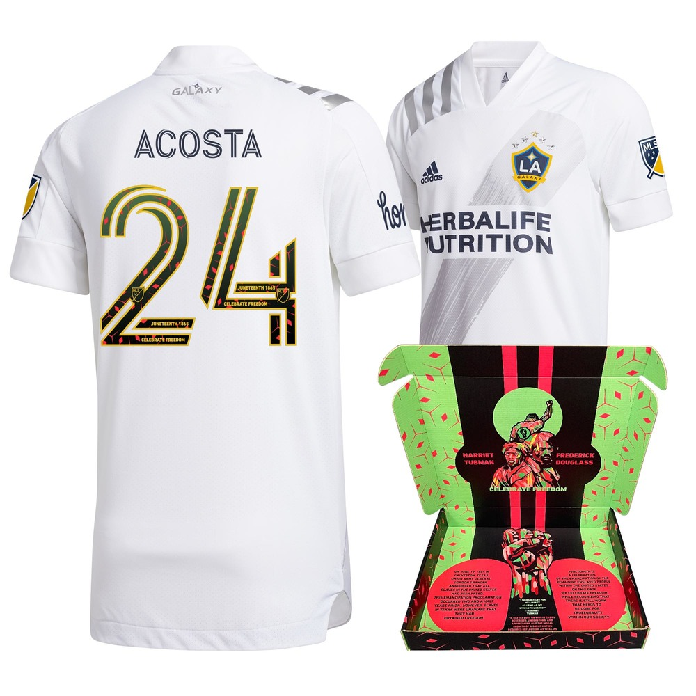 Danilo Acosta Los Angeles Galaxy FC Player-Issued & Signed