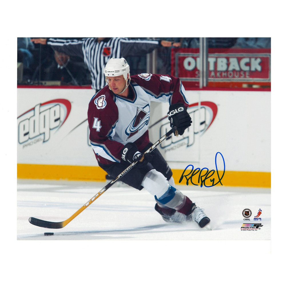 ROB BLAKE Signed Colorado Avalanche 8 X 10 Photo - 70262