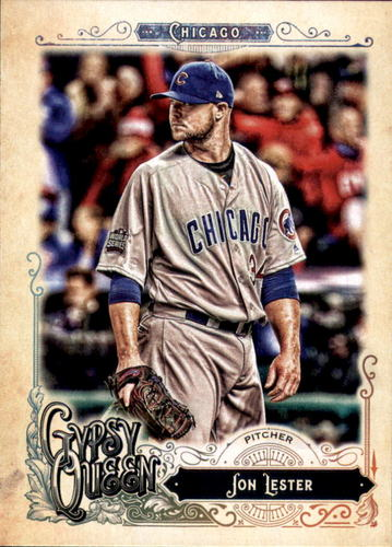 Photo of 2017 Topps Gypsy Queen #237 Jon Lester