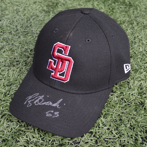 Photo of Charity Auction - Broward Education Foundation - Patrick Biondi #83 - Autographed & Game-Used Marjory Stoneman Douglas High School Cap