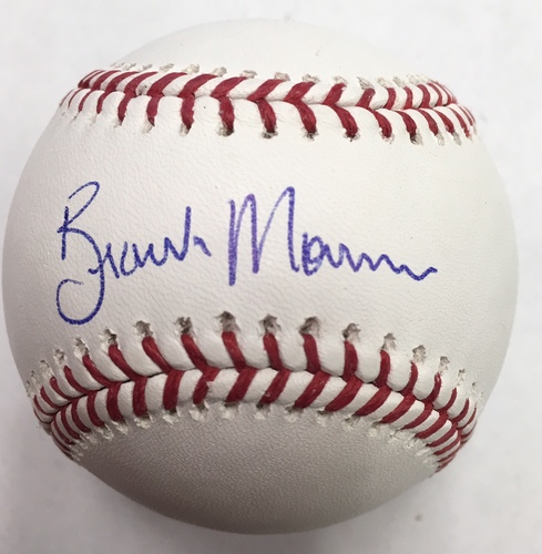 Photo of Brandon Morrow Autographed Baseball