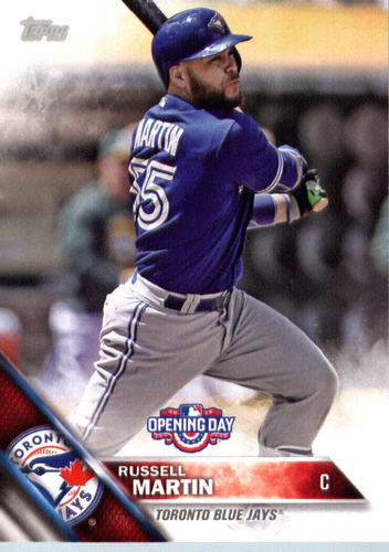 Photo of 2016 Topps Opening Day #OD8 Russell Martin