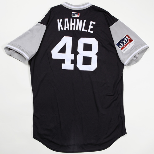 "Photo of Tommy ""Kahnle"" Kahnle New York Yankees Game-Used Jersey 2018 Players' Weekend Jersey"