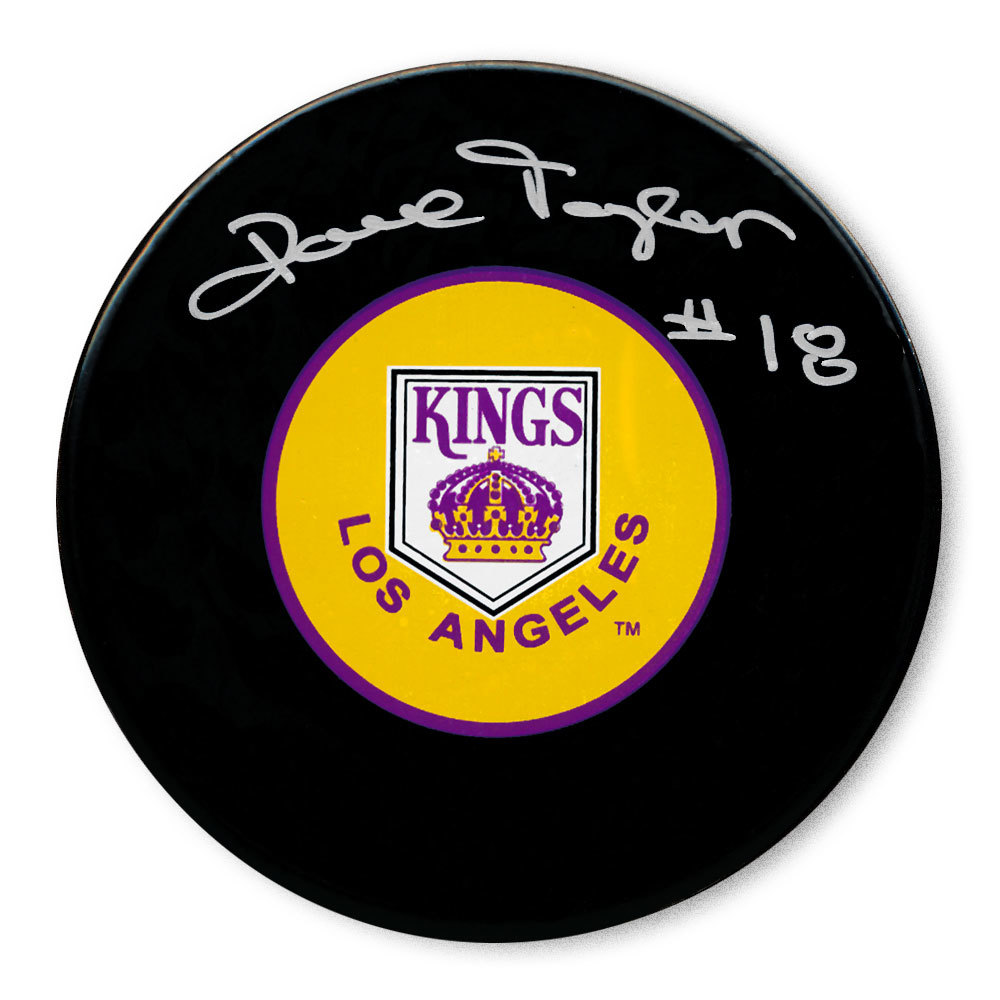 Dave Taylor Los Angeles Kings Autographed Puck
