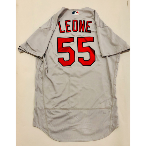 Photo of 2019 Mexico Series Game Used Jersey - Dominic Leone Size 46 (St. Louis Cardinals)