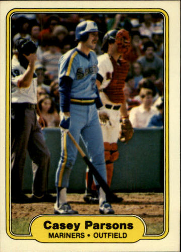 Photo of 1982 Fleer #515 Casey Parsons