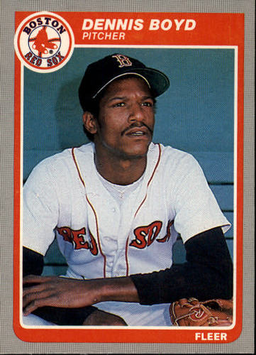 Photo of 1985 Fleer #152 Dennis Boyd