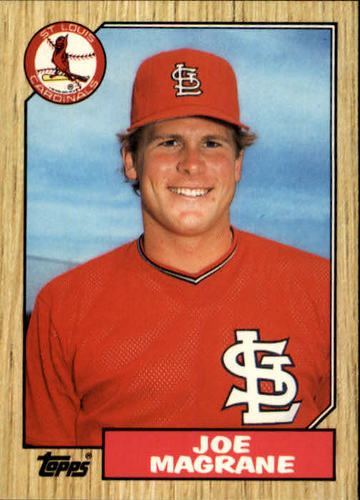 Photo of 1987 Topps Traded #72T Joe Magrane XRC