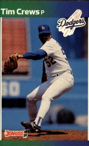 Photo of 1989 Donruss #486 Tim Crews