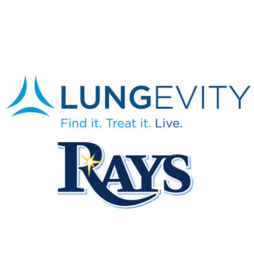 LUNGevity Auction: Tampa Bay Rays - Lunch with the Rays' Starting Rotation