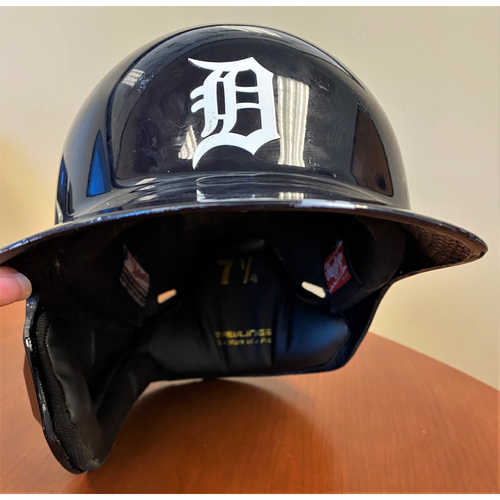 Photo of #46 Detroit Tigers Team-Issued 2020 Home Batting Helmet (MLB AUTHENTICATED)