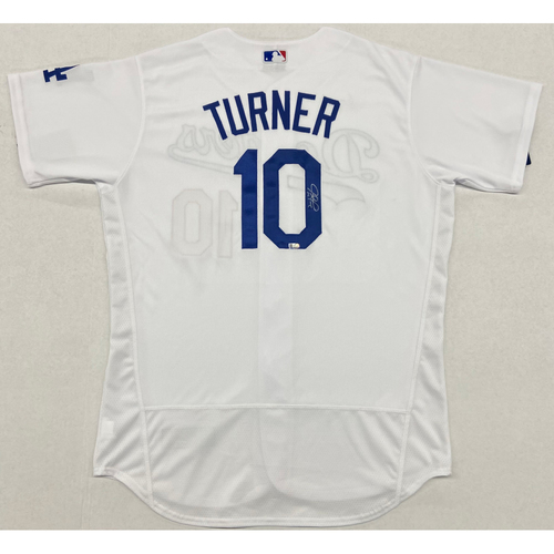Photo of Justin Turner Authentic Autographed Jersey