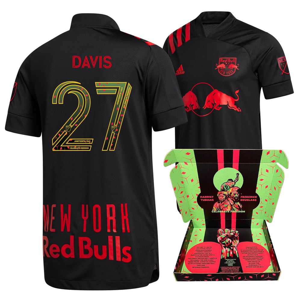 Sean Davis New York Red Bulls Match-Used & Signed