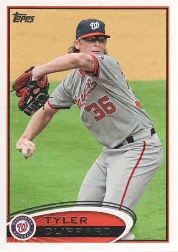 Photo of 2012 Topps #503 Tyler Clippard