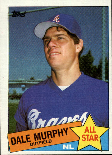 Photo of 1985 Topps #716 Dale Murphy AS