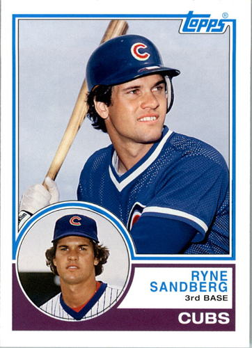 Photo of 2006 Topps Rookie of the Week #24 Ryne Sandberg 83
