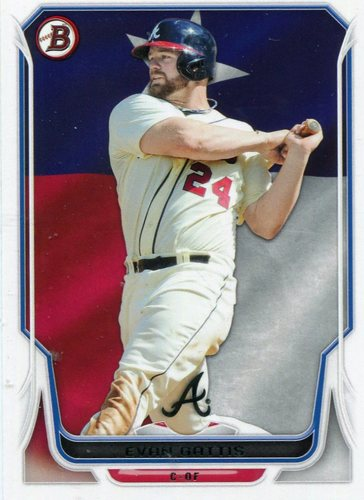 Photo of 2014 Bowman Hometown #13 Evan Gattis